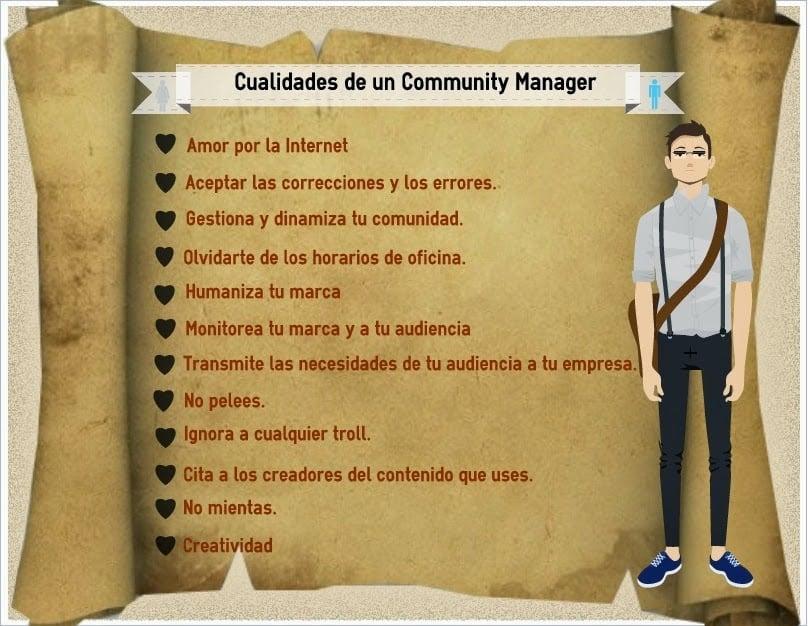 Cualidades de un Community Manager