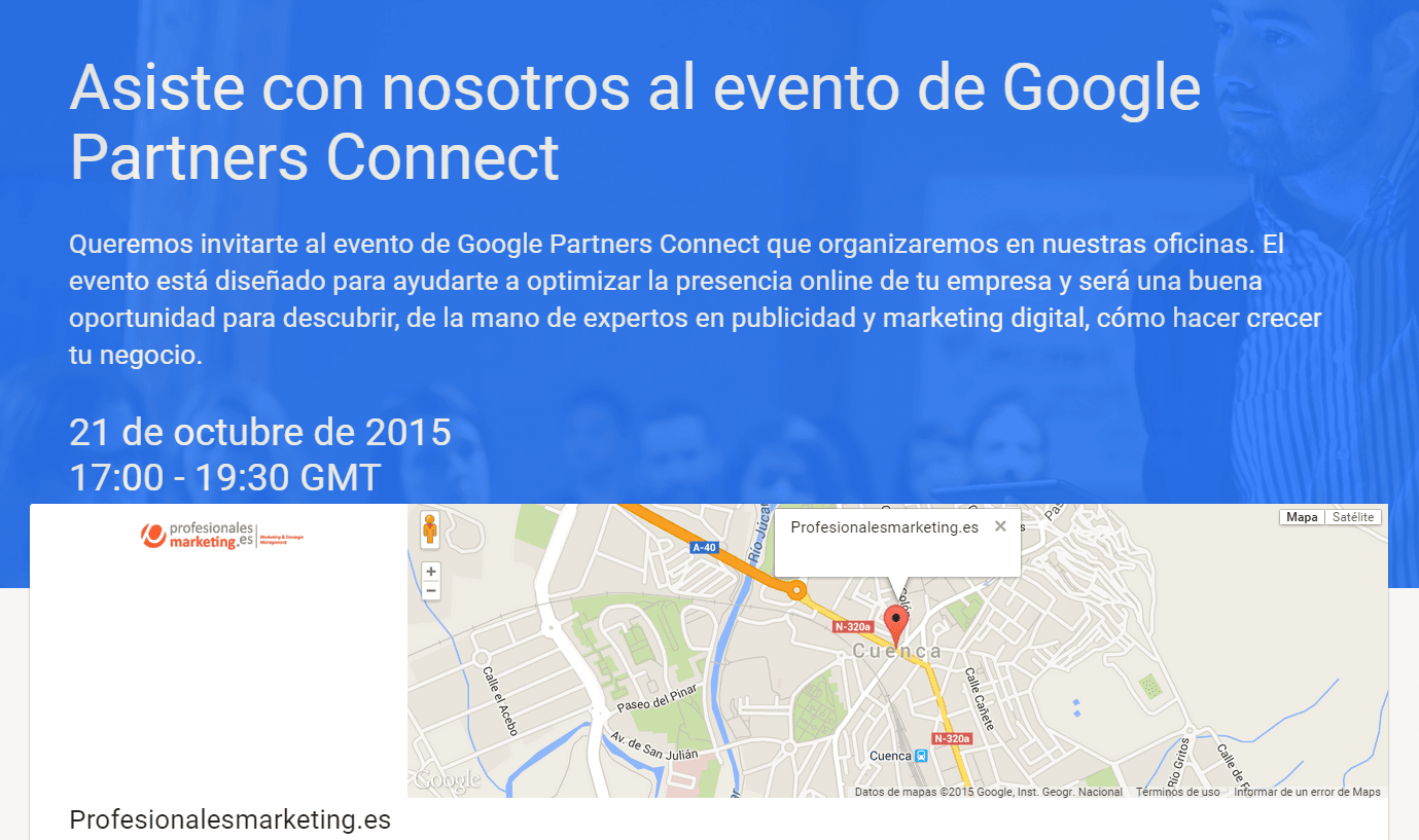 google partner connect Cuenca