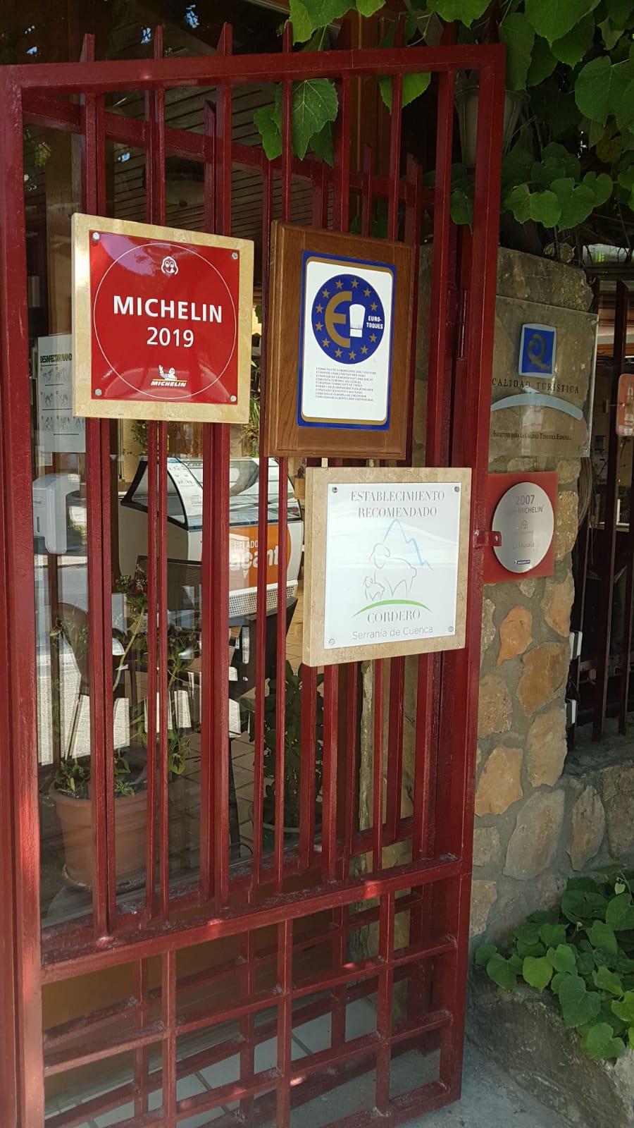 La Muralla, establecimiento recomendado Cordero Serranía de Cuenca